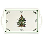 Spode® Pimpernel Christmas Tree 15-Inch Sandwich Tray
