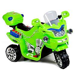 Lil' Rider FX 3-Wheel Battery-Powered Bike in Green