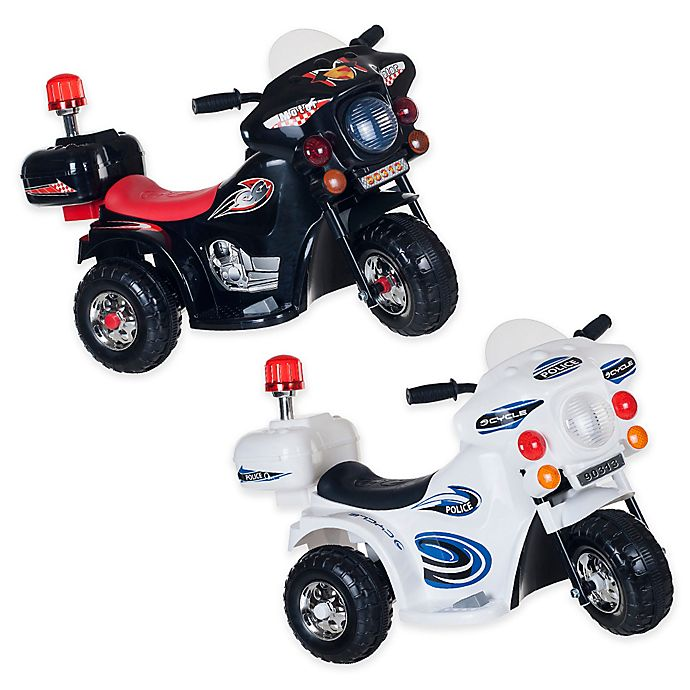 Alternate image 1 for Lil' Rider SuperSport 3-Wheel Ride-On Motorcycle