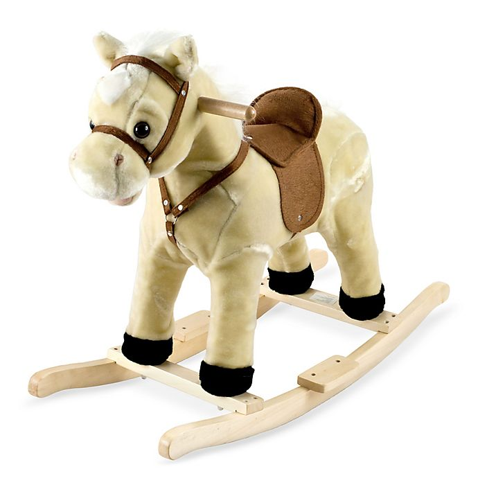 Alternate image 1 for Happy Trails Rocking Lil Henry the Horse