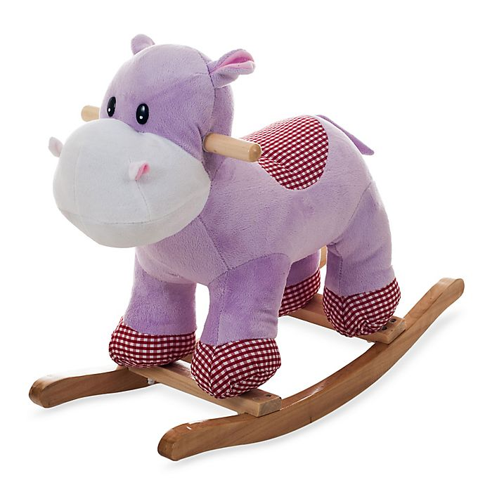 Alternate image 1 for Happy Trails Henrietta the Rocking Hippo