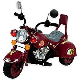 Lil' Rider Maroon Marauder 3-Wheeler Motorcycle
