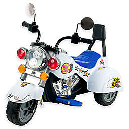 Lil' Rider White Knight 3-Wheeler Ride-On Motorcycle