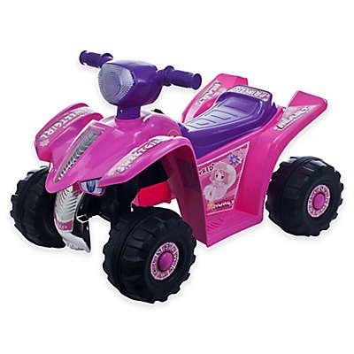 Lil' Rider Pink Princess Mini Quad Ride-On Car