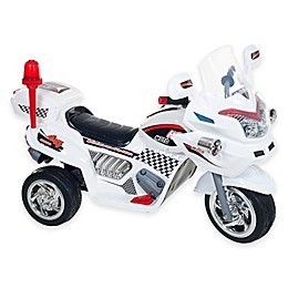 Lil' Rider Police Connection Ride-On Bike Trike in White
