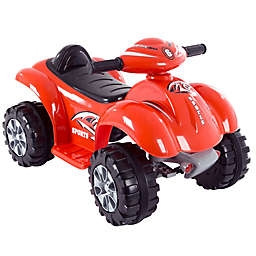 Lil' Rider Red Battery-Powered 4-Wheeler