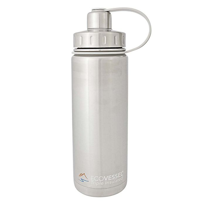 Alternate image 1 for Eco Vessel® BOULDER Insulated Stainless Steel Water Bottle