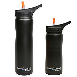 Eco Vessel® SUMMIT Insulated Straw Top Water Bottle