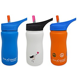 Eco Vessel® FROST 13 oz. Insulated Kids Straw Top Water Bottle
