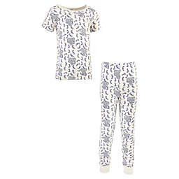 Touched by Nature® Size 6Y 2-Piece Organic Cotton Pajama Set in Blue