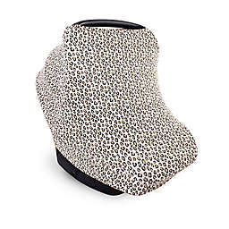 Little Treasure Leopard Car Seat Canopy in Beige