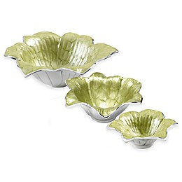 Julia Knight® Flowers Lily Serveware Collection in Kiwi