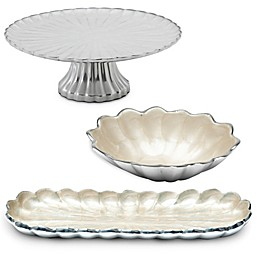 Julia Knight® Peony Serveware Collection in Snow