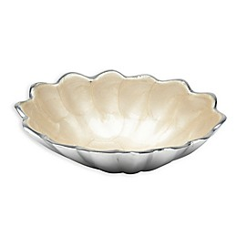 Julia Knight® Peony 5-Inch Oval Bowl in Snow