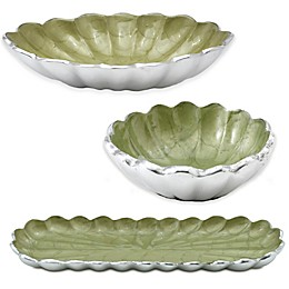 Julia Knight® Peony Serveware Collection in Kiwi