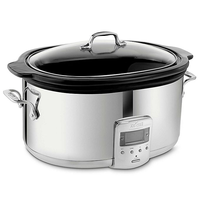Alternate image 1 for All-Clad 6.5-Quart Electric Slow Cooker