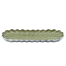 Julia Knight® Peony 14-Inch Rectangular Tray in Kiwi