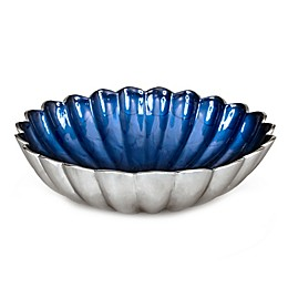 Julia Knight® 12-Inch Peony Deep Bowl in Sapphire
