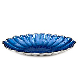 Julia Knight® Peony 16-Inch Oval Bowl in Sapphire