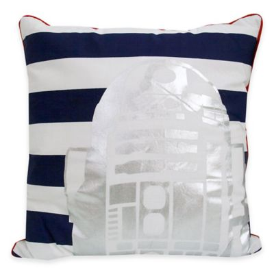 Star Wars Classic R2 D2 Square Throw Pillow Bed Bath