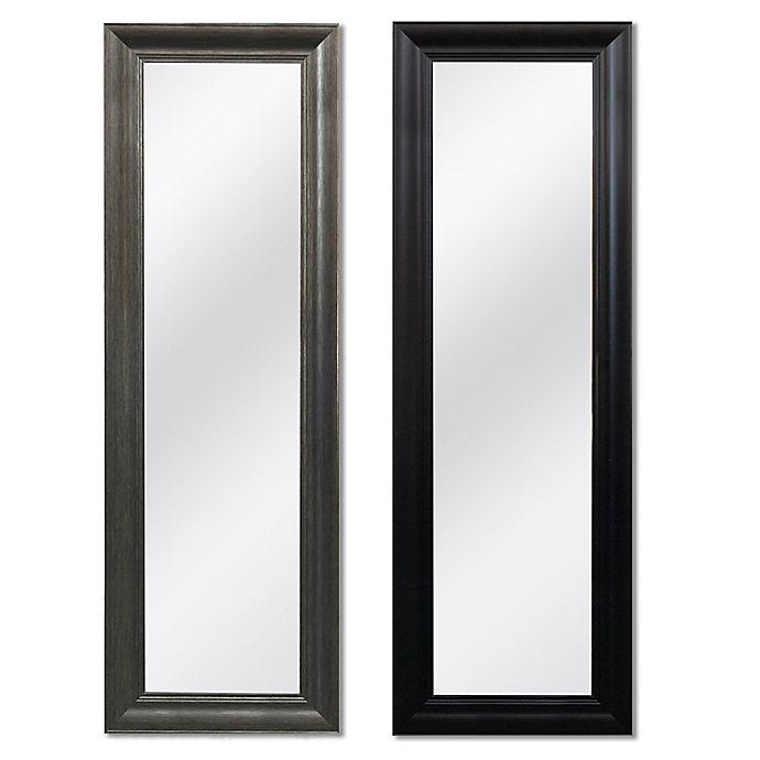 Alternate image 1 for No-Tools Over-the-Door Mirror