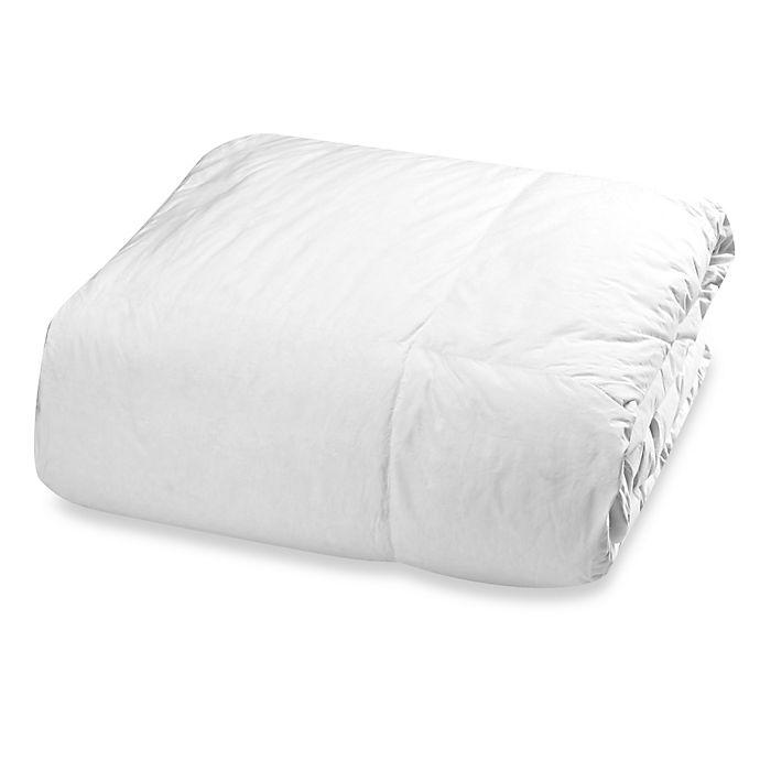Alternate image 1 for Claritin® Ultimate Allergen Barrier ClearLoft™ Goose Down Comforter in White