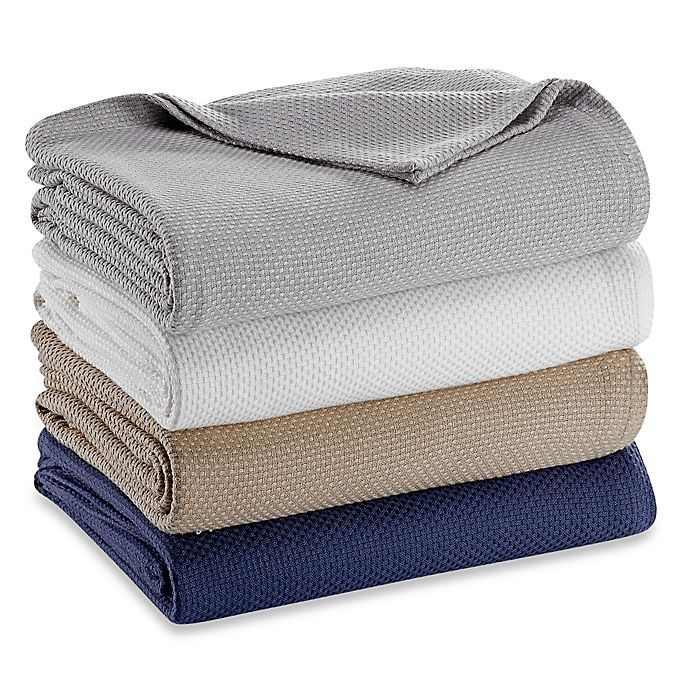 Alternate image 1 for Pure Beech® Zero Twist Cotton/Modal Blanket