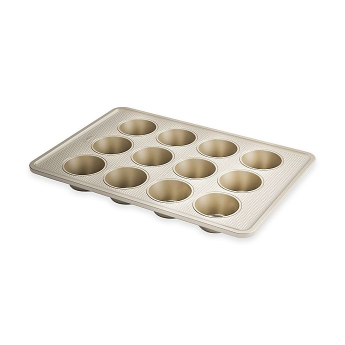 Alternate image 1 for OXO Good Grips® Pro Nonstick 12-Cup Muffin Pan