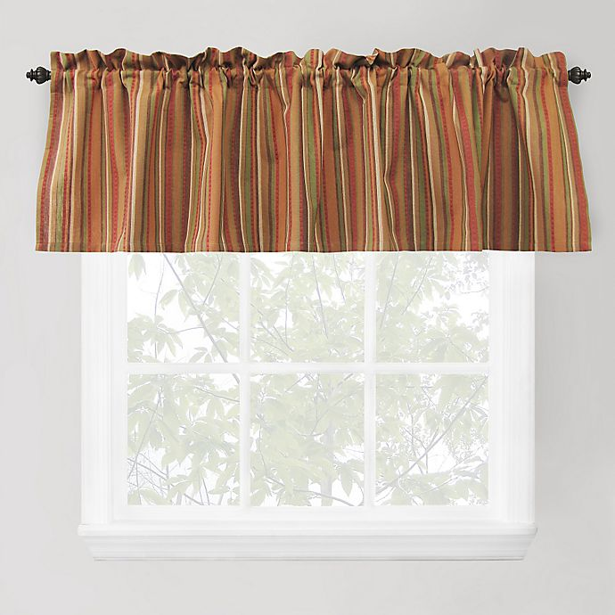 Raynier Window Valance In Tuscany Bed, Tuscany Kitchen Curtains
