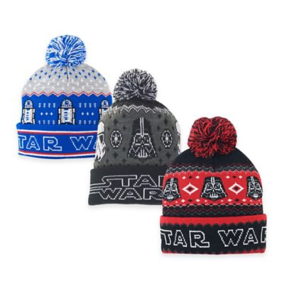 Star Wars Ugly Sweater Pom Beanie Bed Bath And Beyond