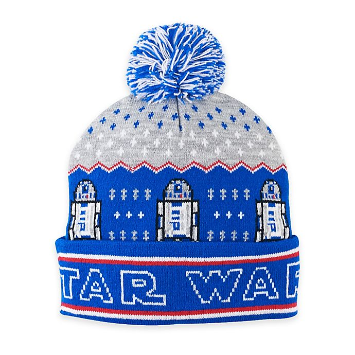 dfd10ac7890 View a larger version of this product image. Click to Zoom. Alternate image 1  for Star Wars™ R2-D2™ Ugly Sweater Pom Beanie