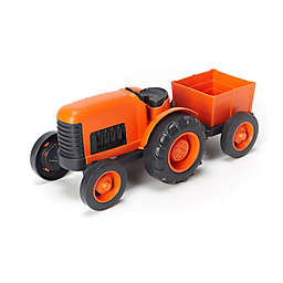 Green Toys Farm Tractor in Orange