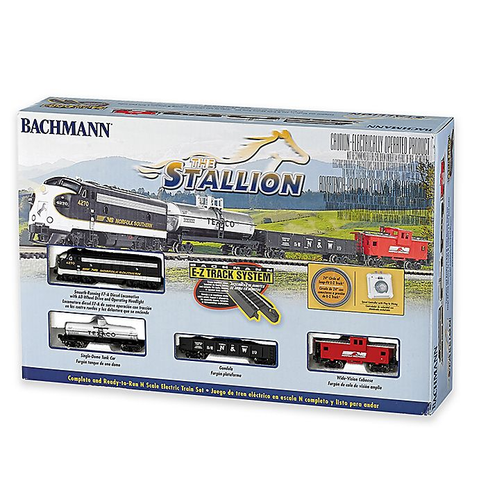 Alternate image 1 for Bachmann Trains The Stallion N Scale Ready To Run Electric Train Set