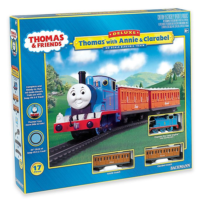 Alternate image 1 for Thomas with Annie & Clarabel Electric Train Set