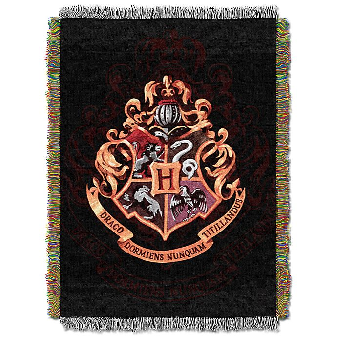 Alternate image 1 for Harry Potter™ Hogwarts Tapestry Throw Blanket