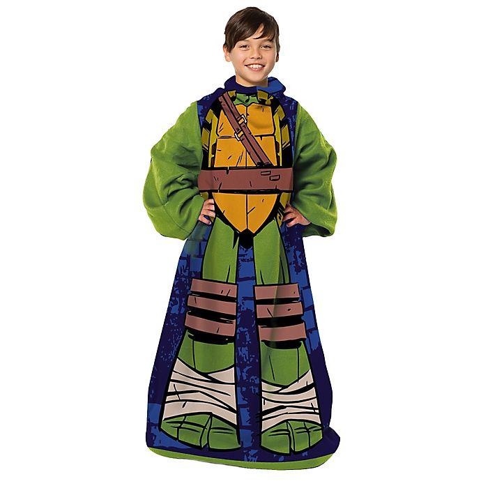 Alternate image 1 for Nickelodeon™ Teenage Mutant Ninja Turtles Being Leo Children's Comfy Throw™ by The Northwest Company