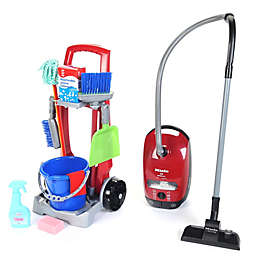 Theo Klein Cleaning Trolley and Miele Vacuum Combo