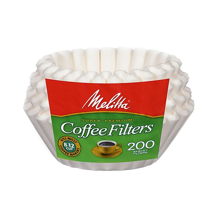 Alternate image 1 for Melitta Basket Coffee Filters (200 Count)