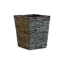 Baum Christina Binded Maize Wastebasket in Grey