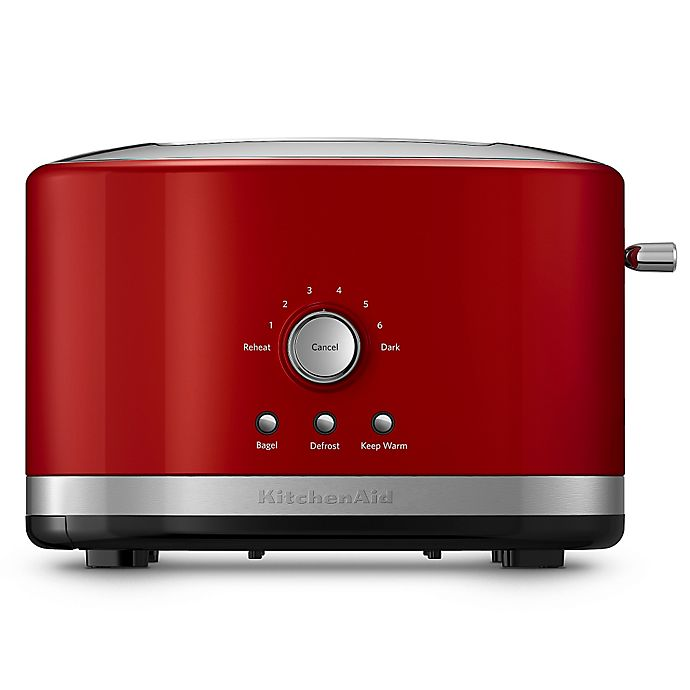 Alternate image 1 for KitchenAid® 2-Slice Toaster with High Lift Lever in Red