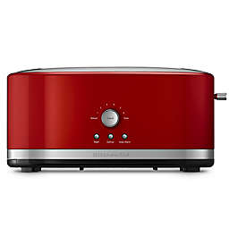 KitchenAid® 4-Slice Long Slot Toaster with High Lift Lever in Empire Red