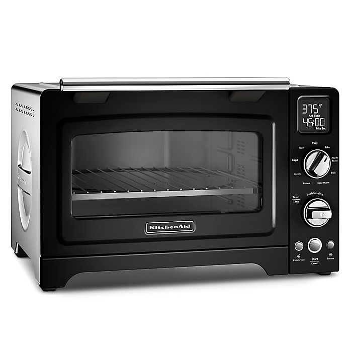 Alternate image 1 for KitchenAid® 12-Inch Convection Digital Countertop Oven in Black