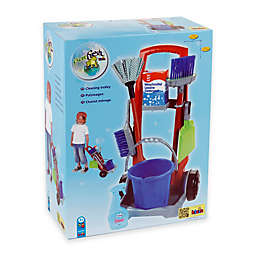 Theo Klein 8-Piece Cleaning Trolley