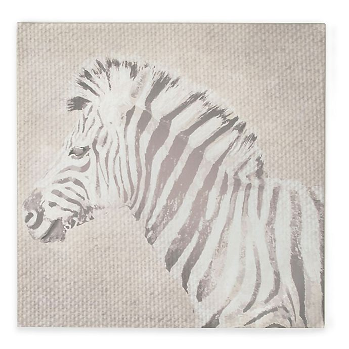 Alternate image 1 for Zebra Canvas Print Wall Art