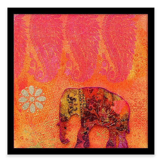 Alternate image 1 for Pink Elephant Framed Corkboard