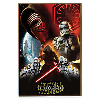 "Star Wars™ ""Episode VII-The Force Awakens"" Villain Group Poster Wall Décor Plaque"