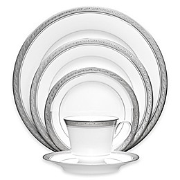 Noritake® Crestwood Platinum Dinnerware Collection