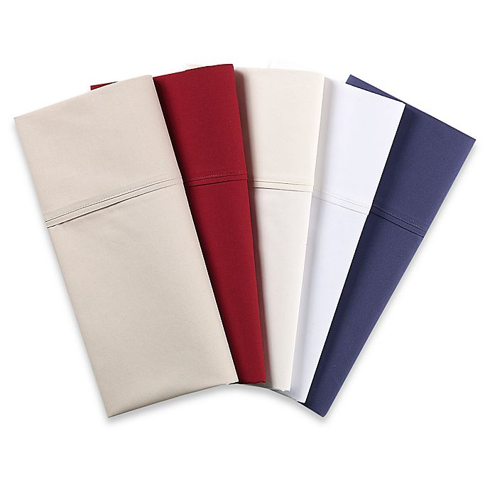 Alternate image 1 for Nautica® 200-Thread-Count Solid Sheet Set