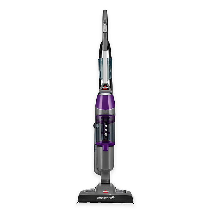 Alternate image 1 for BISSELL® Symphony® Pet All-in-One Vacuum and Steam Mop in Purple