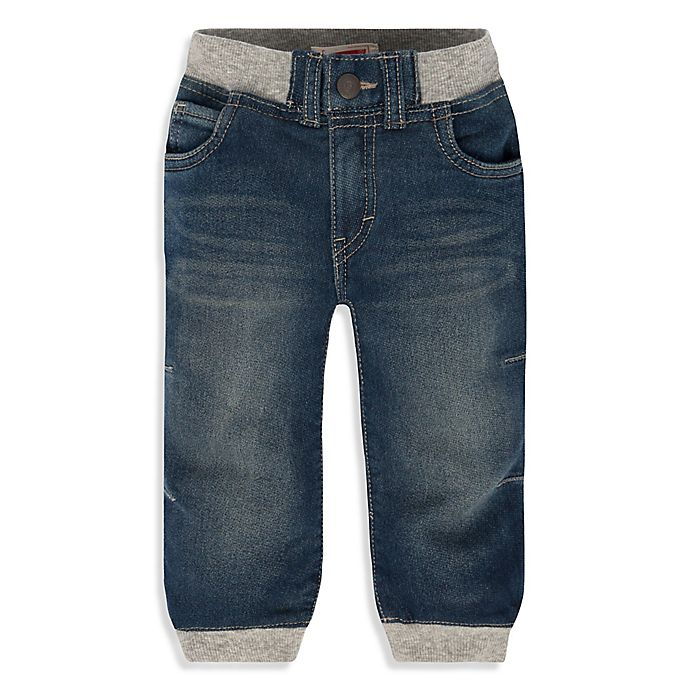 Alternate image 1 for Levi's® Size Waverly Knit Denim Jogger Pant in Blue